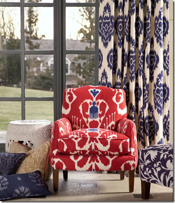 ikat curtains Archives - DrapeStyle