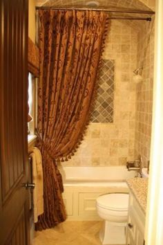 Adding A Custom Shower Curtain Can Add Height Drama And Privacy To Your Or Tub Dtyle Has Been Making Window Treatments For Over