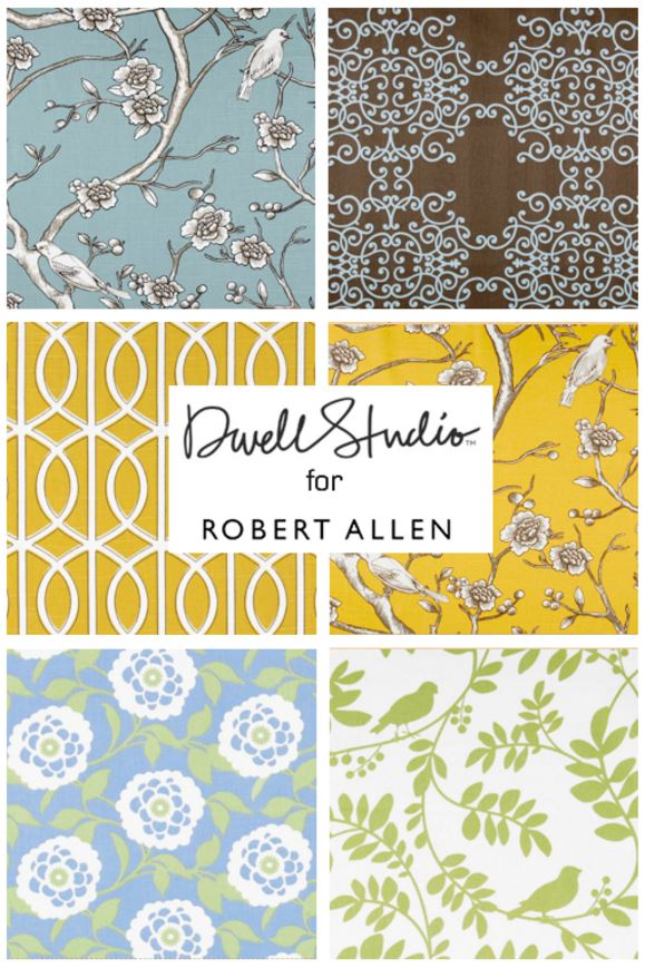 Dwell Studio Fabric Collection By Robert Allen Dtyle
