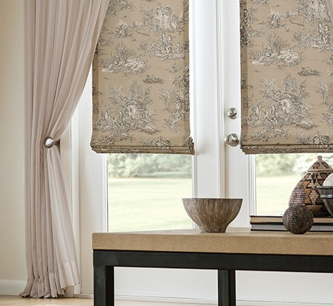 Roman Shades By Drapestyle Archives Drapestyle