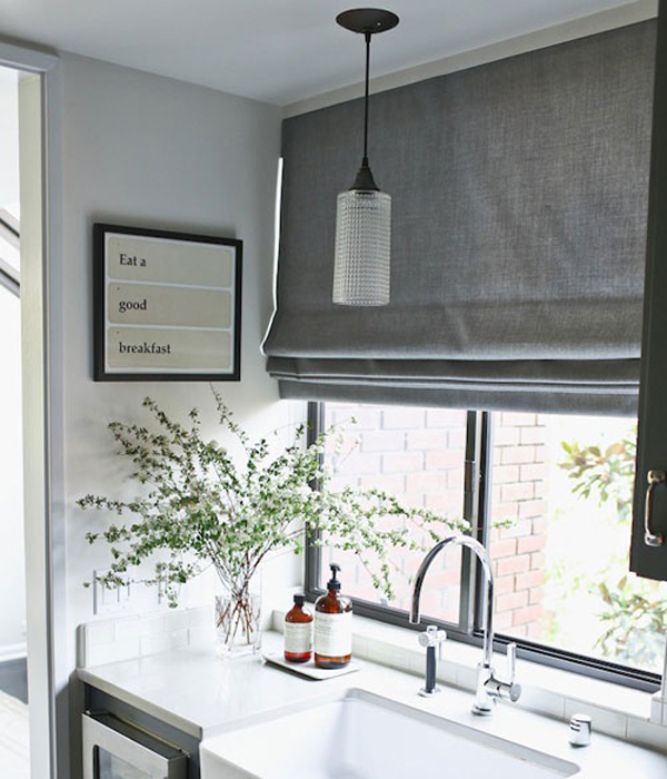 Grey Kitchen Shade