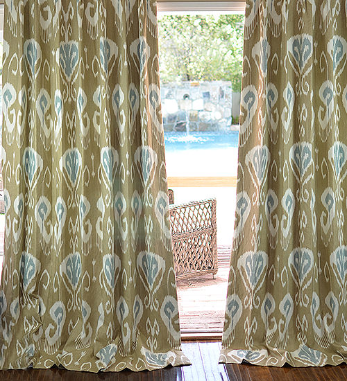 Kravet Bansuri Drapes