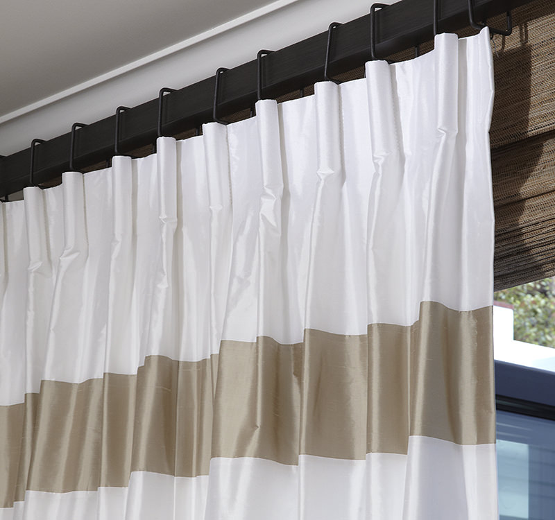 cartridge pleat drapes