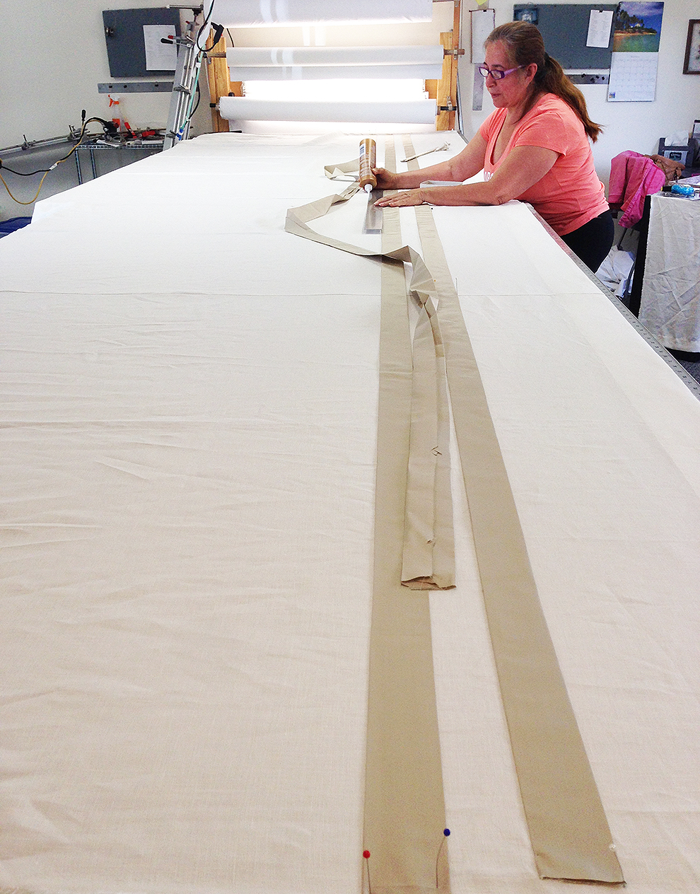 extra long linen drapes