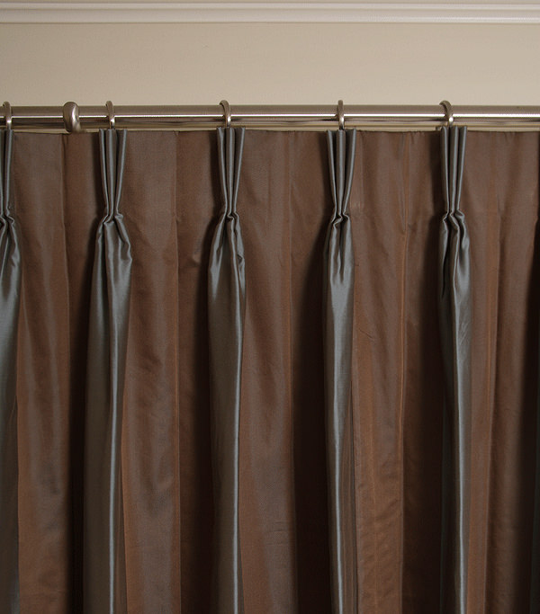 French Drapery Pleat Style