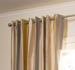 custom grommet top drapes