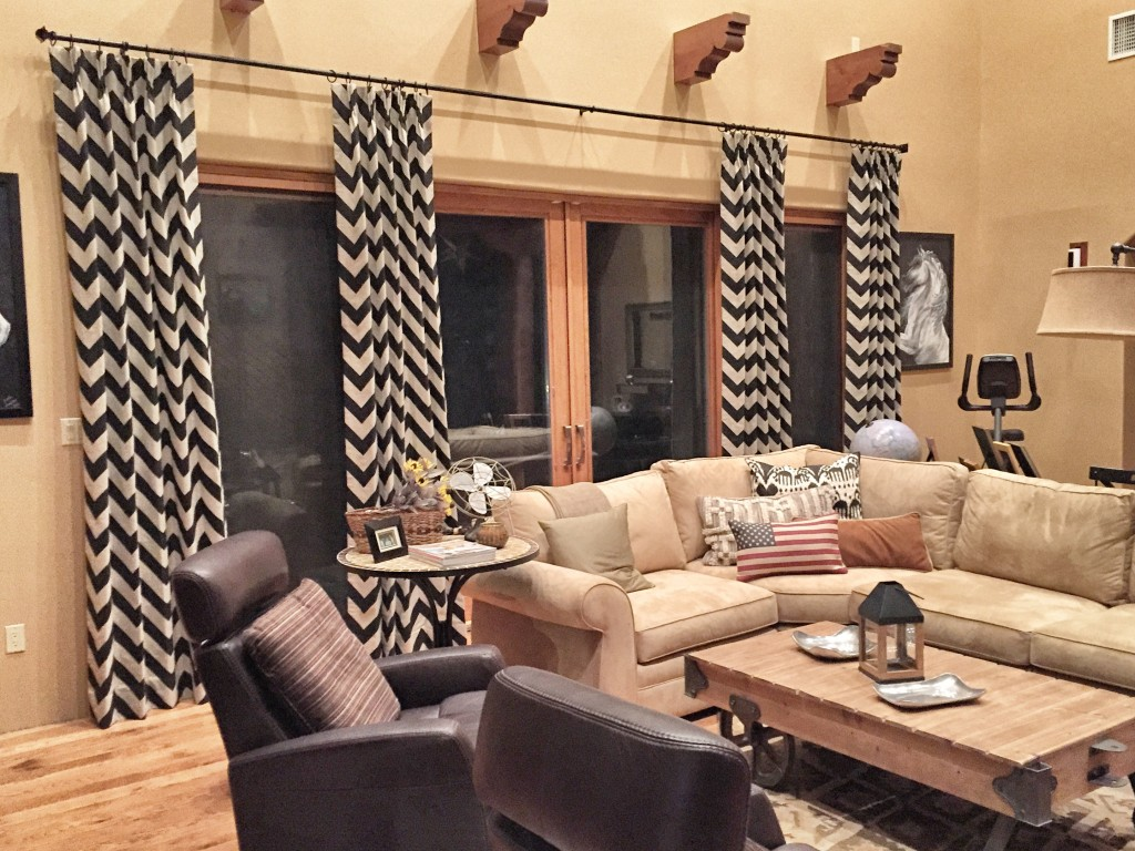 Mojave Stone Custom Contemporary Drapery