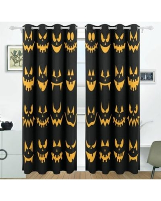 Creative Halloween Drapes