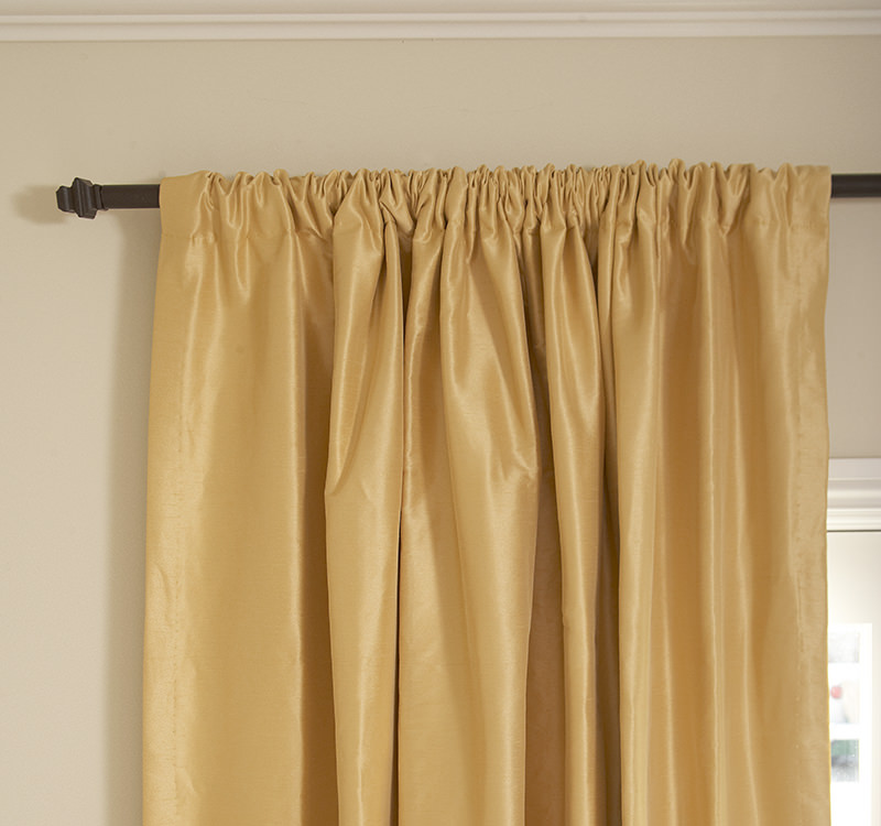 The Rod-Pocket Custom Drapes