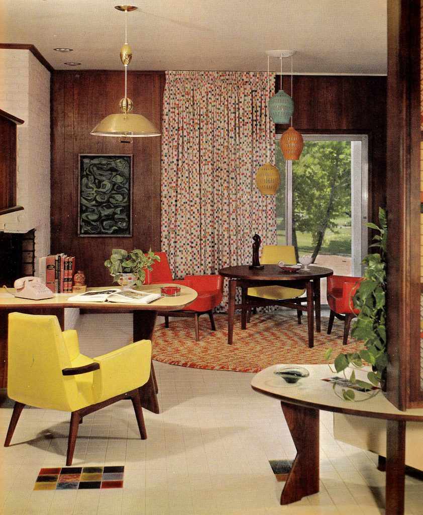 20 Chic Interior Designs With Yellow Curtains: The Custom Drapes House And Garden Called