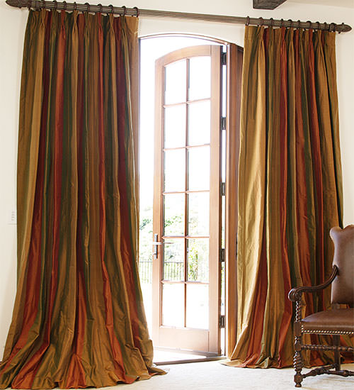 striped-silk-dupioni-custom-drapes